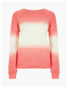 GOODMOVE Pure Cotton Ombre Sweatshirt