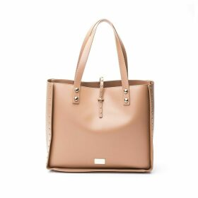 Trussardi Faux Leather Tote Bag