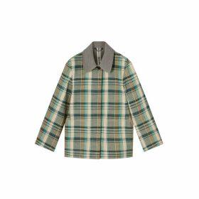 Jigsaw Spring Tartan Jacket
