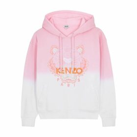 Kenzo Tiger-embroidered Dégradé Cotton Sweatshirt