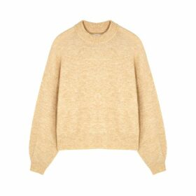 Samsøe & Samsøe Alain Light Brown Alpaca-blend Jumper