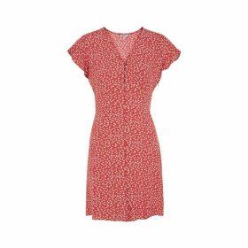 Rails Helena Floral-print Rayon-blend Dress