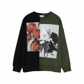 Alexander McQueen Printed Cotton Sweatshirt