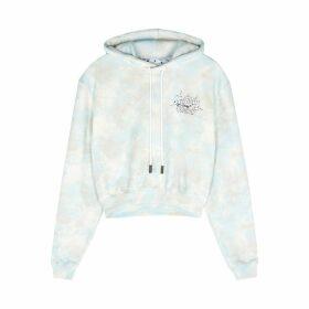 Off-White Meteor Shower Tie-dyed Cotton Sweatshirt