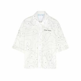 Off-White Puzzle White Cotton Shirt
