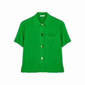 Rejina Pyo Nico Green Shirt