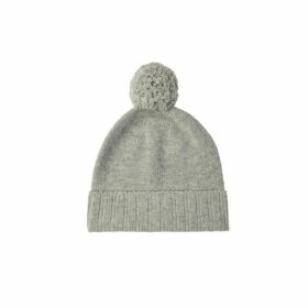 Johnstons Of Elgin Cashmere Pom Pom Hat