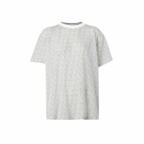 Burberry Monogram Devore Oversized T-shirt