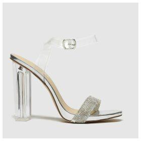 Schuh Silver Idol High Heels