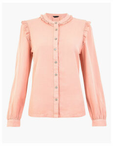 M&S Collection Ruffle Blouse