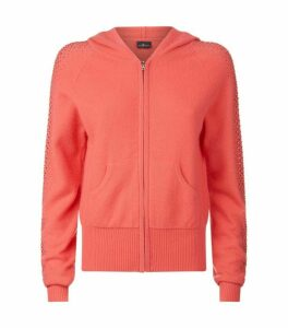 William Sharp Embellished Cashmere Hoodie