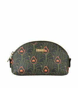 Harrods Nigella Peacock Print Cosmetic Bag