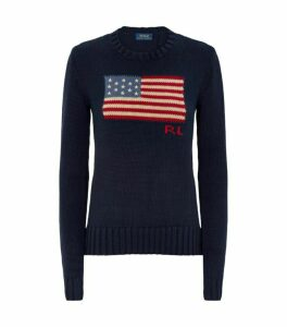 Ralph Lauren Knitted Flag Sweater