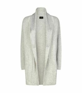 William Sharp Swarovski Embellished Cashmere Cardigan