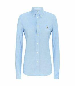 Ralph Lauren Heidi Knit Oxford Shirt