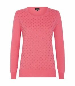 William Sharp Embellished Cashmere Sweater