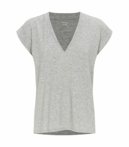 FRAME Cotton Le Mid Rise T-Shirt