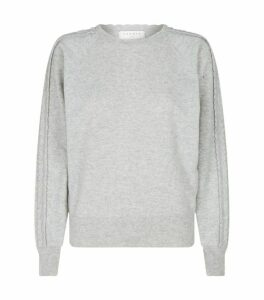 Sandro Paris Scallop-Trim Knit Sweater