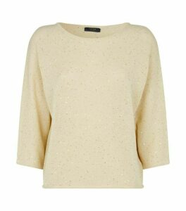 Peserico Sequin-Embellished Sweater
