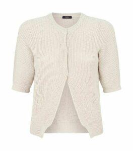 Peserico Cotton Sequin Cardigan