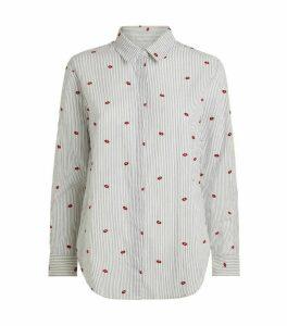 Rails Lips Print Taylor Shirt