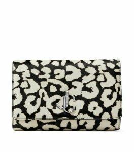 Jimmy Choo Leather Printed Varenne Clutch Bag