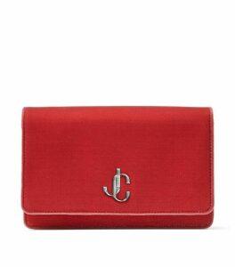 Jimmy Choo Velvet Palace Mini Clutch Bag