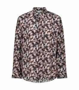 Vince Silk Floral Shirt