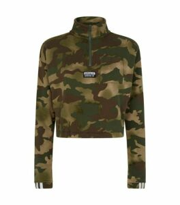 adidas Originals Camouflage Half-Zip Sweater