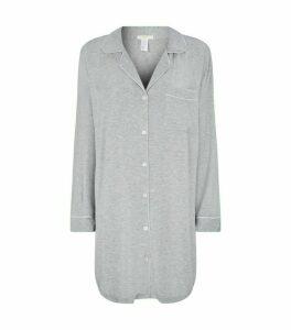 Eberjey Piped Night Shirt