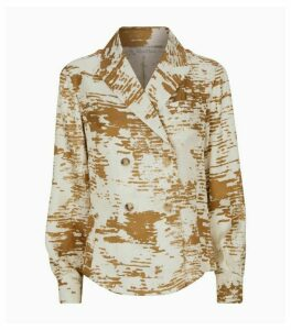 Max Mara Silk Eris Jacket Blouse
