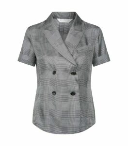 Max Mara Turku Check Blouse