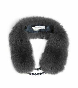Max Mara Nitra Fur Collar