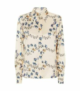 Chloé Silk Flower Shirt