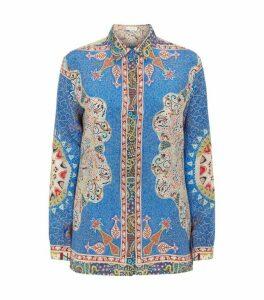 Etro Silk Printed Shirt