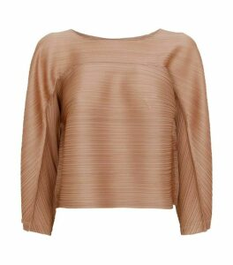 Pleats Please Issey Miyake Tucked Bounce Top