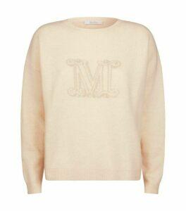 Max Mara Cashmere Monogram Udine Sweater