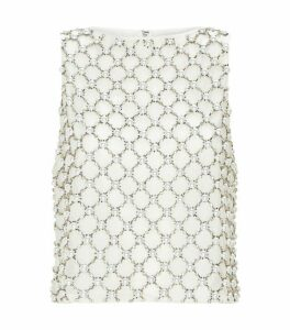 Alice+Olivia Amal Embellished Top