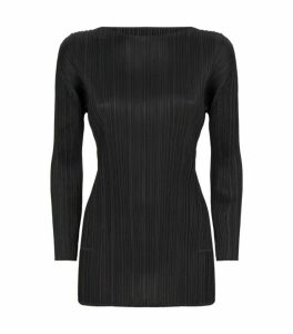 Pleats Please Issey Miyake Long-Sleeved Top