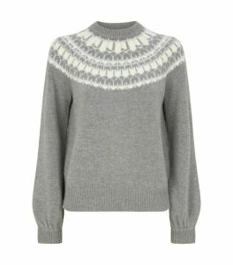J Brand Harriet Fair Isle Sweater