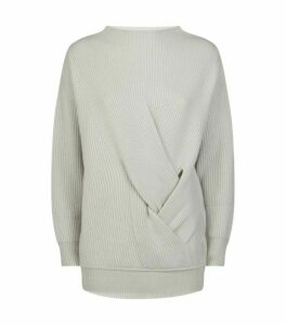 Max Mara Ribbed Wool-Cashmere Verace Sweater