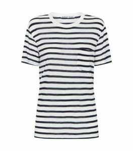 Alexander Wang Stripe Pocket T-Shirt