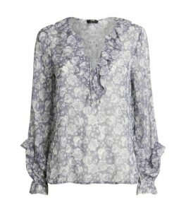 PAIGE Robin Sheer Blouse