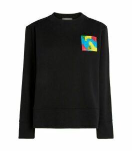 Moschino Moschino Teddy Bear Badge Sweater