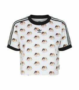 adidas Originals x Fiorucci Crop T-Shirt