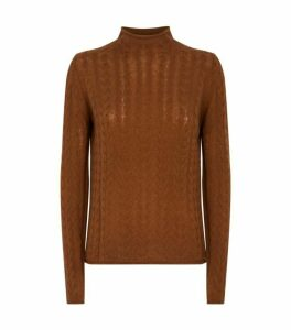 Theory Cashmere High-Neck Sweater