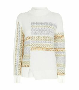 3.1 Phillip Lim Knitted Fair Isle Sweater