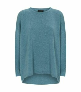 Eskandar Cashmere Dropped Hem Sweater