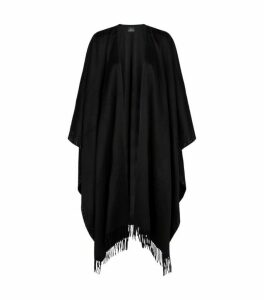 William Sharp Swarovski Crystal Cashmere Poncho