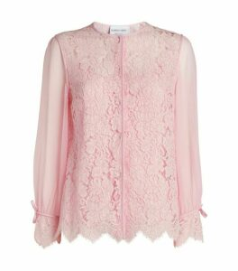 Giorgio Grati Lace Shirt with Cami Top